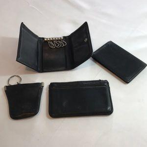 Coach accessories card holder key holders purse